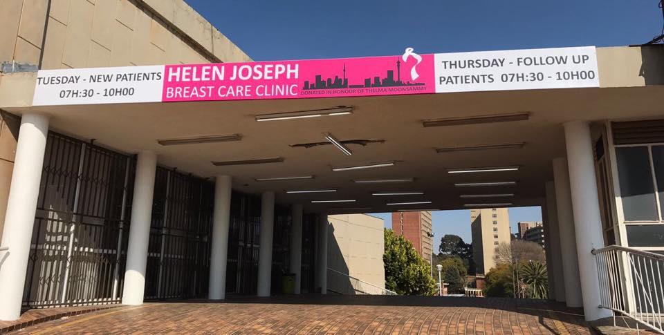 Helen Joseph Breast Care Clinic Times