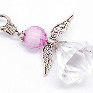 Big Angel Key Ring (Clear)