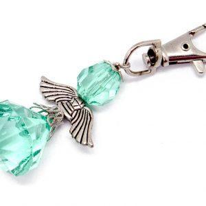 Small Angel Key Ring (Light green)