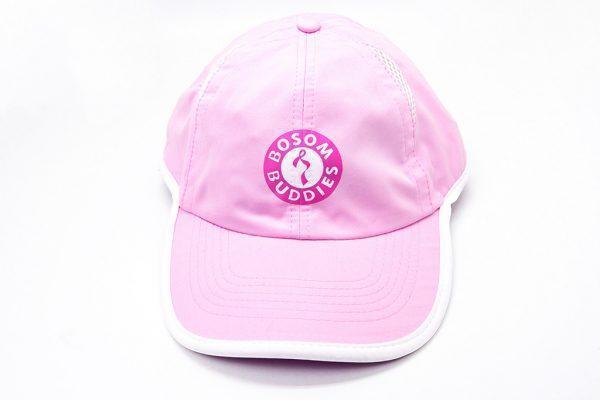 Caps: Bosom Buddies - Light Pink and White