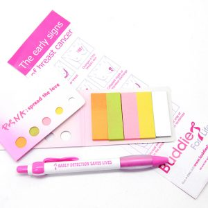 Stationary Pack: Pink Spread the love