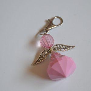 Big Angel Key Ring (Pink)