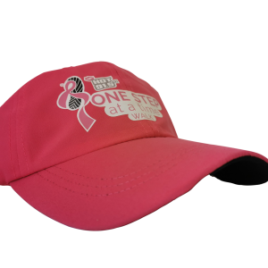 Cap - One Step pink logo